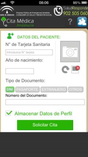 App Salud Responde Cita Medica