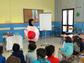 Un centenar de escolares jiennenses participan en un taller infantil sobre investigación biomédica