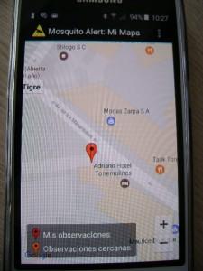 app MOSQUITO ALERT (3)