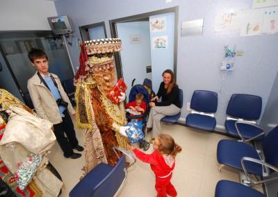 Reyes Magos en Hospital Axarquía 2015