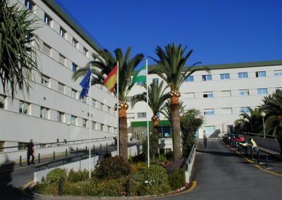 Entrada Hospital Axarquía
