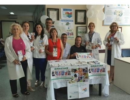 ALCER Málaga conmemora el Día Mundial de los Donantes de Órganos y Tejidos