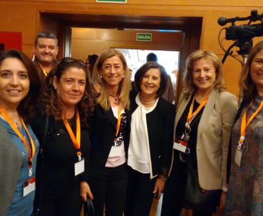 Trabajadoras sociales del Área Sanitaria participan en el Congreso Intersectorial de Envejecimiento y Dependencia