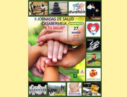 "Casabermeja organiza las II Jornadas de Salud con el lema ""Casabermeja a tu salud"""