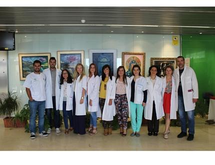 Acto de bienvenida para recibir a los 13 nuevos residentes que realizarán su especialización EIR en el Área Sanitaria Axarquía