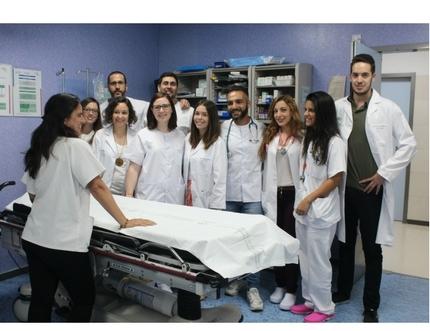 Los nuevos especialistas internos residentes del Área Sanitaria se forman en urgencias hospitalarias