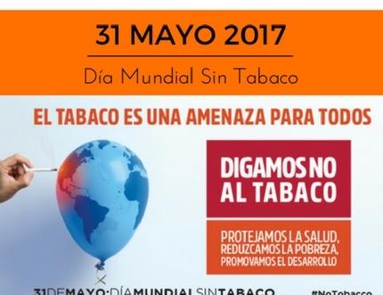 El Área Sanitaria Málaga-Axarquía desarrolla diversas actividades en conmemoración del 'Día Mundial Sin Tábaco'