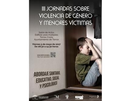 El día 5 de mayo se celebran las III Jornadas sobre Violencia de Género y Menores Víctimas