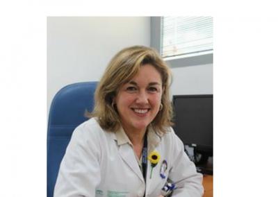 Coral Suero, directora de la UGC Urgencia y Cuidados Intensivos