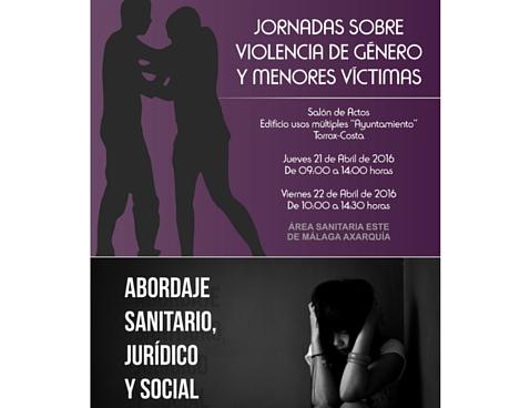 """El Área Sanitaria Axarquía organiza la """"Jornada sobre violencia de género y menores víctimas: abordaje sanitario, jurídico y social"""""""