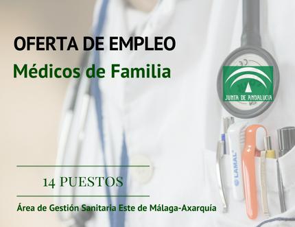 """Convocatoria pública para la provisión temporal de 14 puestos de Médicos de Familia para la cobertura del """"Plan de Vacaciones Estivales 2017"""" en el Área"""
