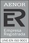 AENOR 9001 - Empresa Registrada