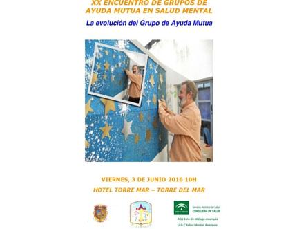Este viernes se celebra en Torre del Mar el XX Encuentro de Grupos de Ayuda Mutua en Salud Mental
