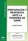 Protocolo de preparación y respuesta ante la pandemia de gripe