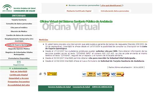 Disponible en inters s la consulta sobre situaci n en - Oficina virtual junta de andalucia ...