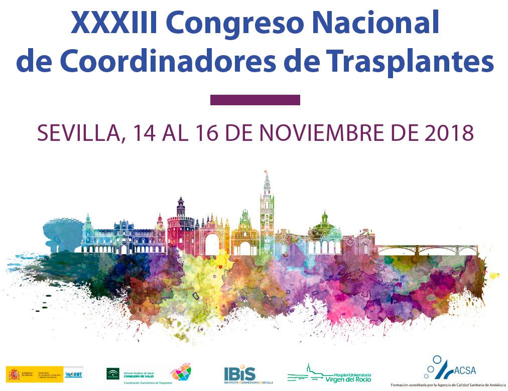 XXXIII Congreso Nacional de Coordinadores de Trasplantes