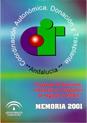 Portada de la Memoria 2001 del Programa de detecci�n, extracci�n y trasplantes de �rganos y tejidos