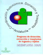 Portada de la Memoria 1.996 del Programa de detecci�n, extracci�n y trasplantes de �rganos y tejidos
