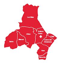 Mapa UGC Área