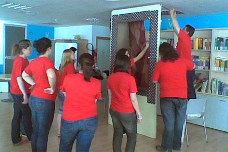 Voluntarios de la Asociación Andalusí de Trasplante Hepático