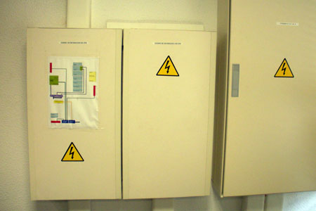 Cuadro eléctrico sala de máquinas
