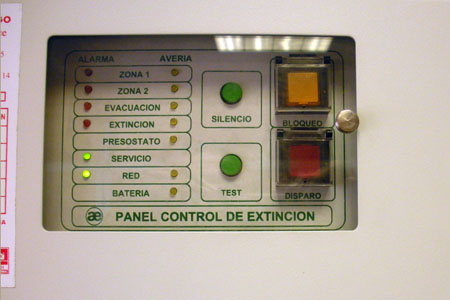 Sistema antiincendios