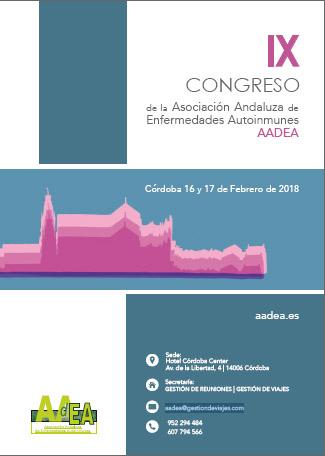 IX Congreso de la Asociación Andaluza de Enfermedades Autoinmunes