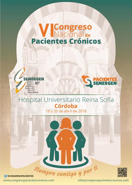 Cartel Congreso Pacientes Crónicos
