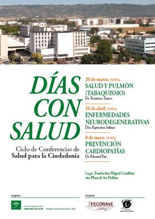 Dias con Salud. Ciclo de Conferencias de Salud para la ciudadanía