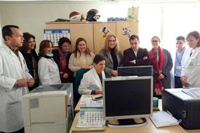 Visita Aulas Hospitalarias
