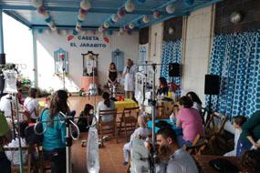 Inauguración caseta Jarabito