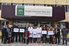 Cuatro nuevas asociaciones apoyan la estrategia antitabaco del hospital