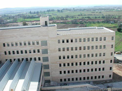 Vista del Edificio de Consultas Externas