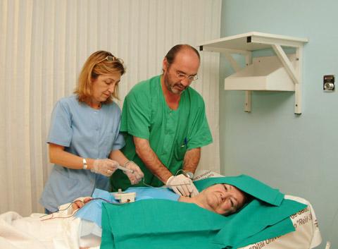 Atención a un paciente en la Unidad de Dolor Agudo