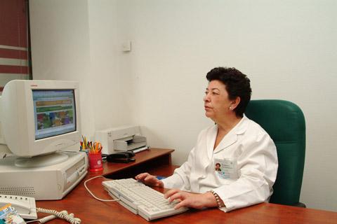 La nueva directora de enfermería ana Rojas