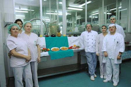 Profesionales del Servicio de Cocina