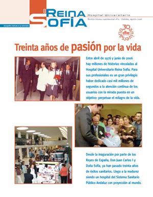 Portada de la revista El Reina Sofía nº 11