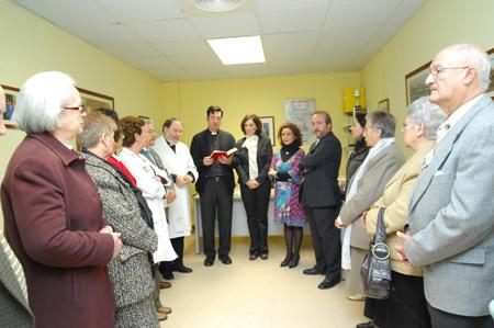 Inauguración de la sede de Mayores del hospital