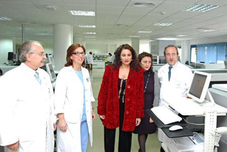 Nuevo laboratorio de análisis clínicos