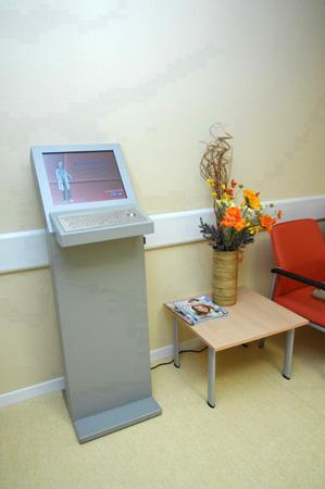 Terminal interactivo para pacientes oncológicos