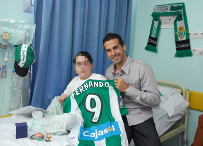 El capitán del Real Betis Balompié Fernando
