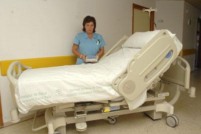 Cama nueva del hospital