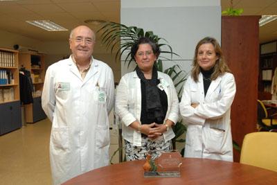 Profesionales del hospital