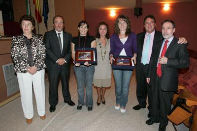 Recogida de premios sobre Sida