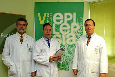 Participantes de la V Reunión de la Sociedad Andaluza de Epilepsia (SADE),