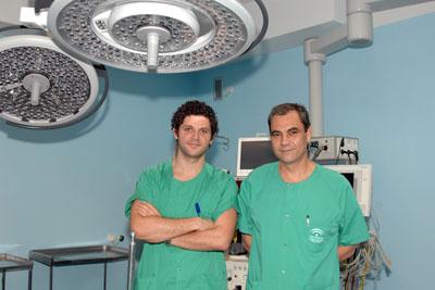 Profesionales del equipo de trasplante pulmonar