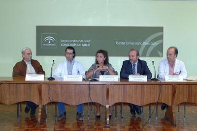 Imagen tomada durante el encuentro con los medios de comunicación