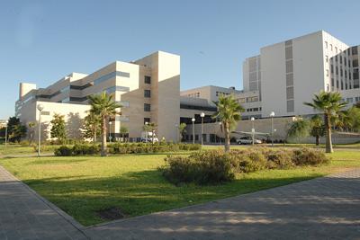 Vista exterior del hospital Reina Sofia
