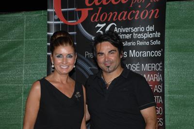 Rafaela Belmonte y Manuel Ruiz 'Queco', director artístico de la gala
