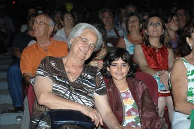 Carmen García 'Carmeli' en uno de los momentos de la gala